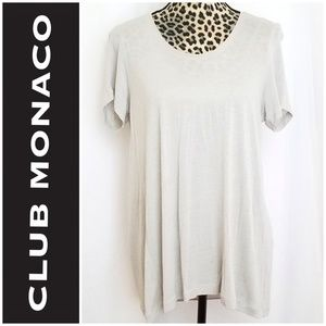 🎀3/$20! Club Monaco Tan Blouse